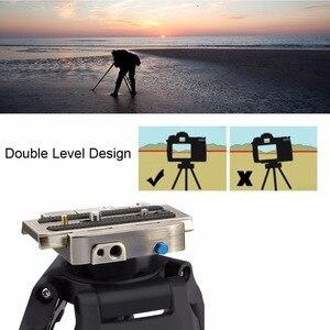 Image 5 - PULUZ Phát Hành Nhanh Chóng Kẹp Adapter + Phát Hành Nhanh Chóng Tấm đối với DSLR Máy Ảnh SLR