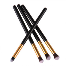 Professional  Eye Makeup Brush Kits 4 pcs/set Durable Ultra-practical Eyeshadow Eyebrow Eyelash Eyeliner Cosmetic Makeup  Brush