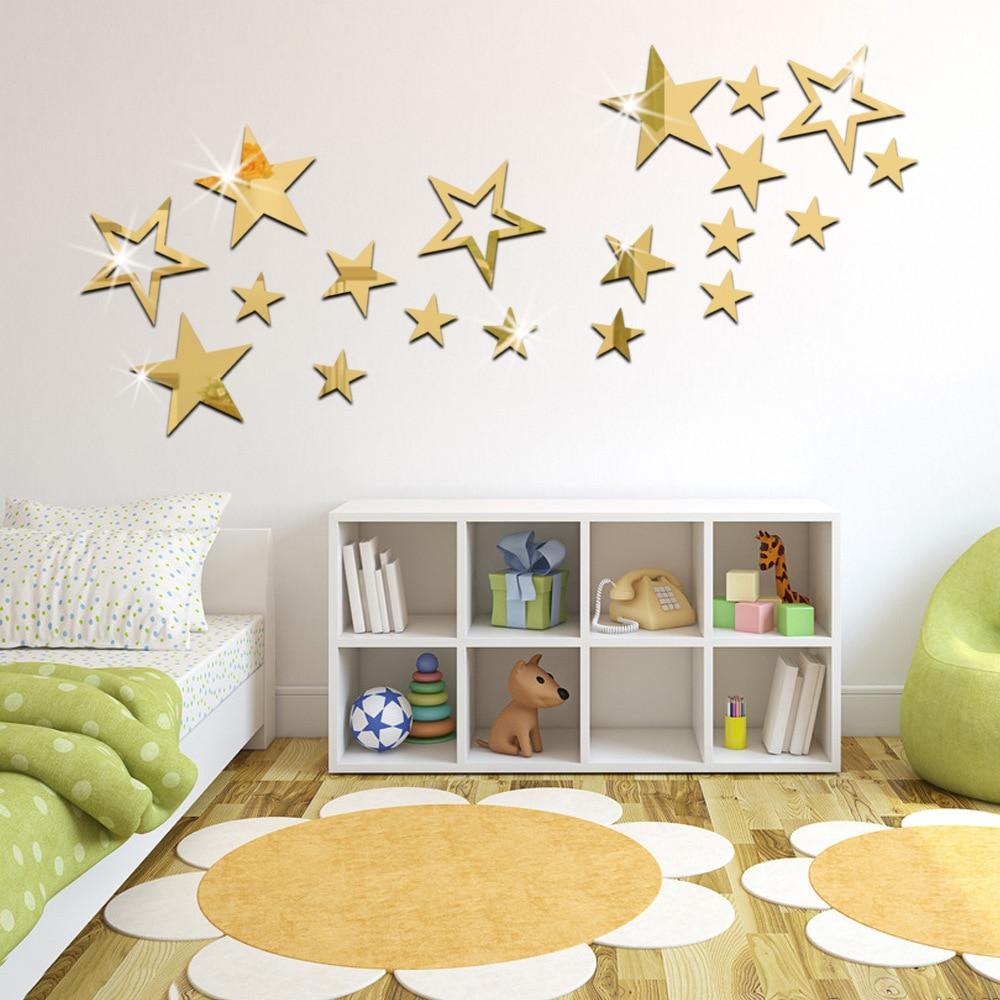 Star Mirror Wall Decor online get cheap stars mirrors -aliexpress | alibaba group