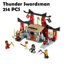 10319 Showdown Jouet De Construction Ninjagoe Thunder Kardforgató Építőelemek Tégla Játékok kompatibilis a Lego 70756