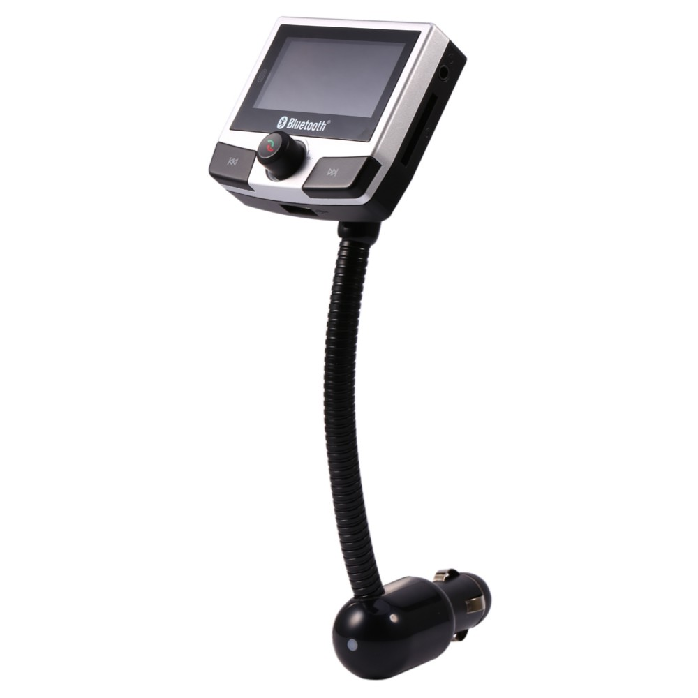 Car Bluetooth MP3 play FM Transmitter Audio Kit with Remote Control Support SD Card For SmartPhone