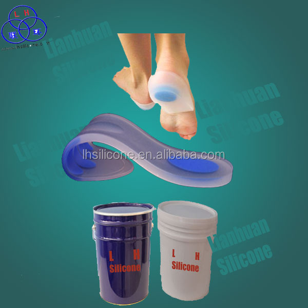 Medical Grade Safe Liquid Silicon Rubber for Footcare Insoles Making