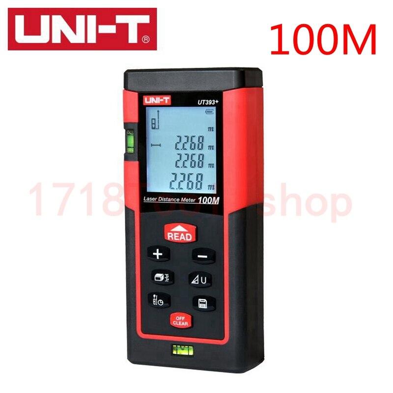 ФОТО Free shipping100m 328ft Digital Laser distance meter Bubble level Rangefinder Range finder Tape measure Area/Volume M/Ft/Tool