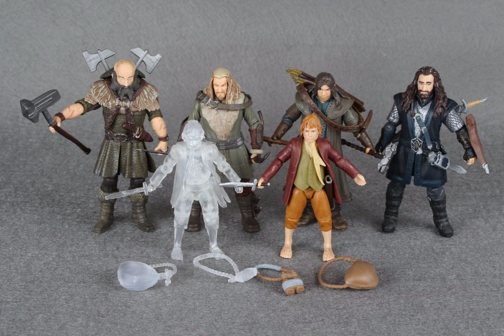 Hobbit Lord of Rings Bridge Direct Thorin Bilbo 3.75 Action Figure Great Shape декор lord vanity quinta mirabilia grigio 20x56