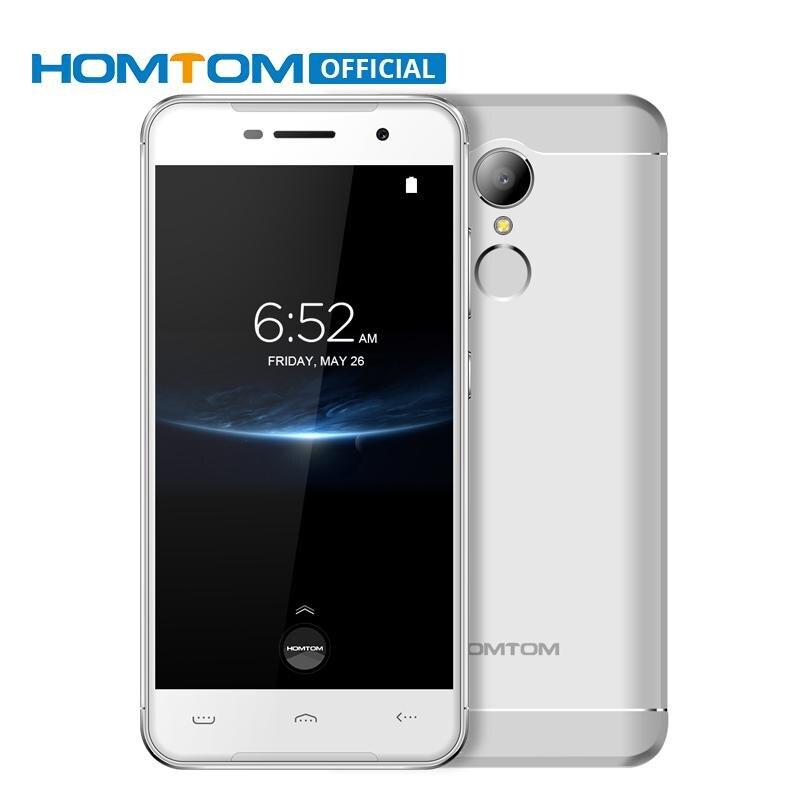 HOMTOM HT37 PRO Android 7,0 MTK6737 Quad Core 1,3 GHz teléfono móvil 3 GB RAM 32 GB ROM 3000 mAh batería huella OTG Smartphone