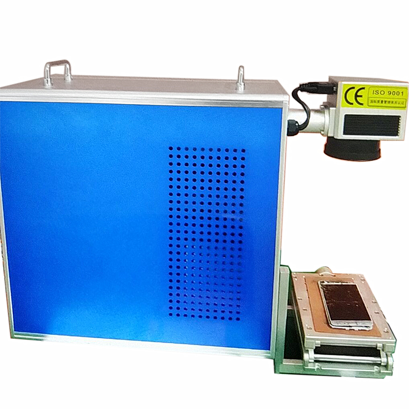 LY FB-04 20W Optical Fiber Laser Mobile Back Cover Frame Separator Separating Machine For Iphone Samsung Huawei Xiaomi Mobiles