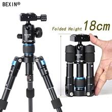 Bexin Lightweight Camera Tripod Aluminum Desktop Photography Compact Mini Tripod with swivel Ball Head for Canon
