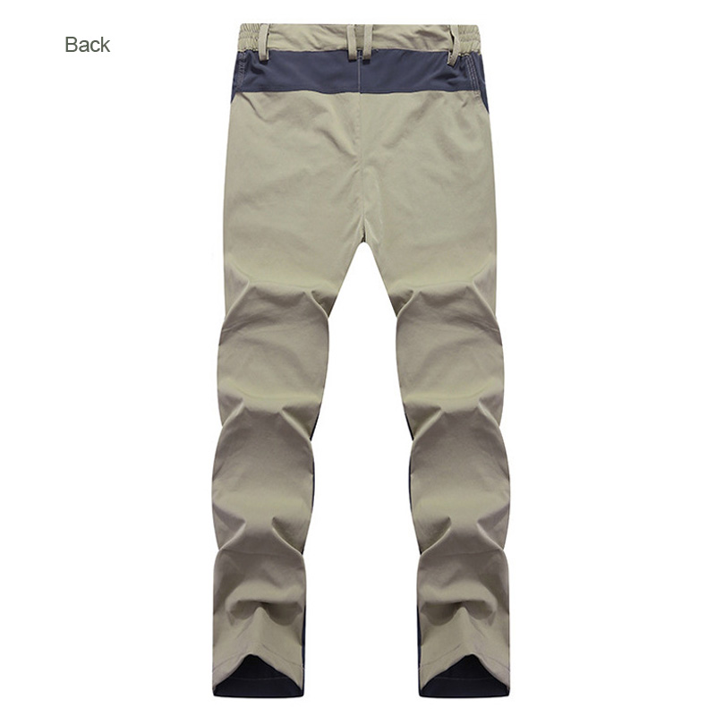 THE ARCTIC LIGHT Spring Summer Men Outdoor Hiking Soft Quick dry Pants Thin Mountaineering Tourism Camping Trousers Khaki in Hiking Pants from Sports Entertainment