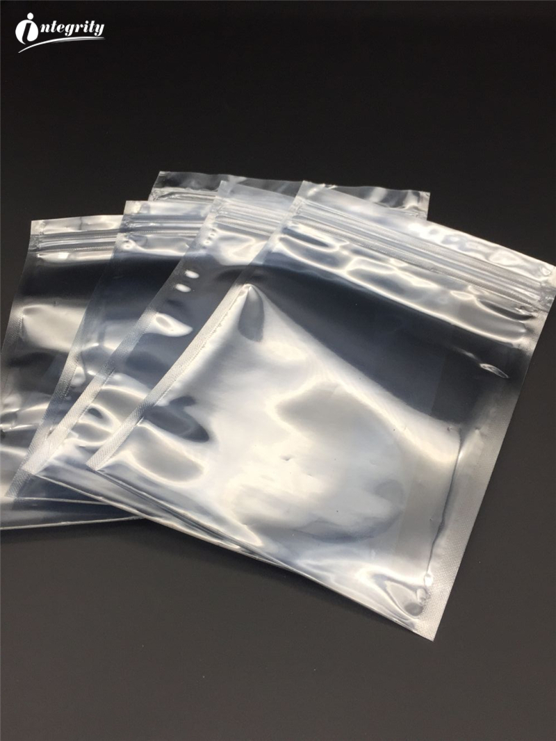 INTEGRITY 1000pcs lot 8 5 16cm Resealable Zip lock Anti Static Shielding Hard Drives Packaging Bag ESD Anti static Package Pouch in Storage Bags from Home Garden
