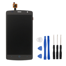цена на For ZTE Blade L5  LCD Display Touch Screen Digitizer Assembly Assembly Repair Part For Blade L5  Free Shipping+Tools