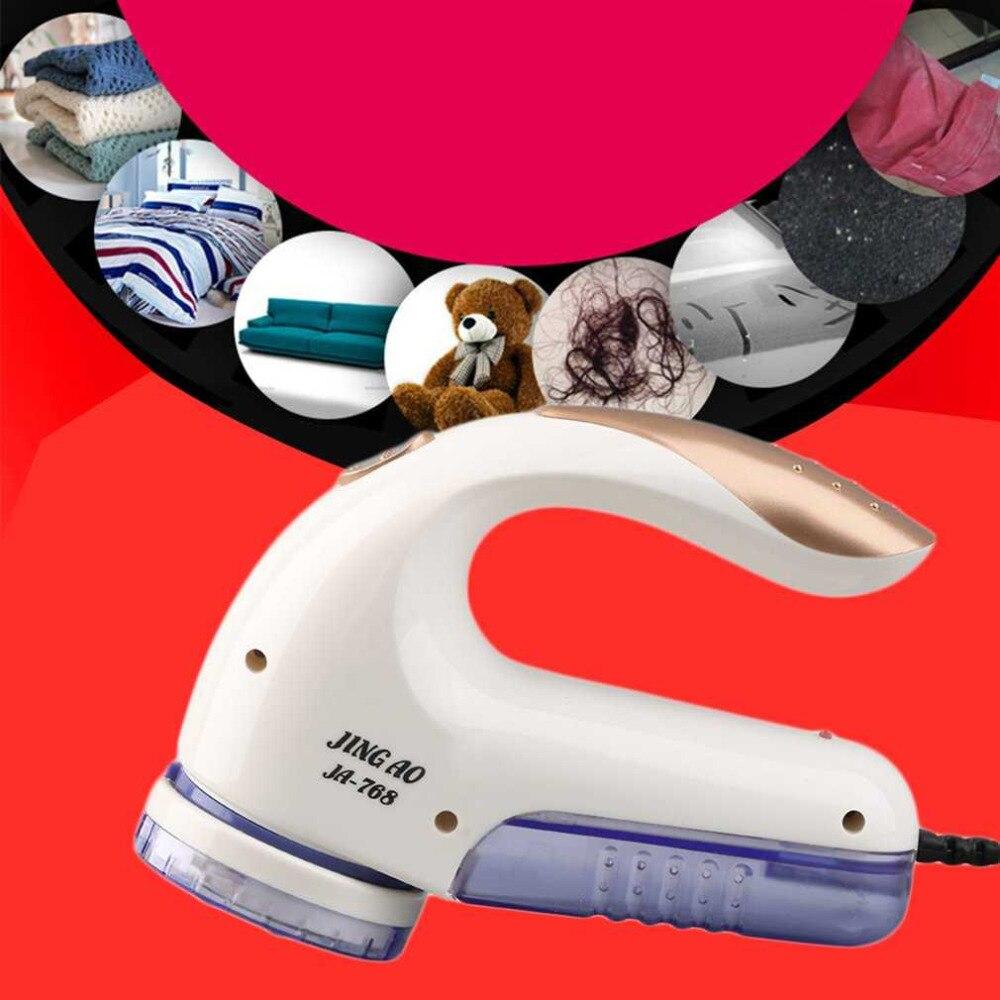 EUA/UE Plugue Elétrico Removedor de Fiapos de Tecido Roupas Barbeador Fuzz Shaver Lint Removedores para Blusas de Tricô Máquina de Limpeza Do Tapete