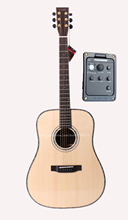 Professional 41 Full Solid Electric Acoustic Guitar,Solid Spruce Top/Solid Rosewood Body,guitars china With Hard case,Gloss цена