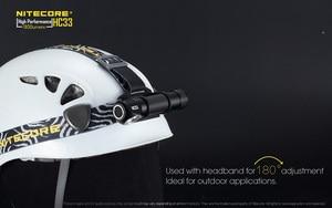 Image 5 - Original Nitecore HC33 Headlight CREE XHP35 LED 1800 lumens High Performance Headlamp+Nitecore 3500mah 18650 battery