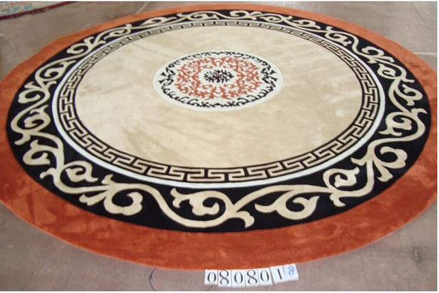 100 Wool Round Carpet Diameter 2meter Area Rugs For Living Room Furniture Luxury Life