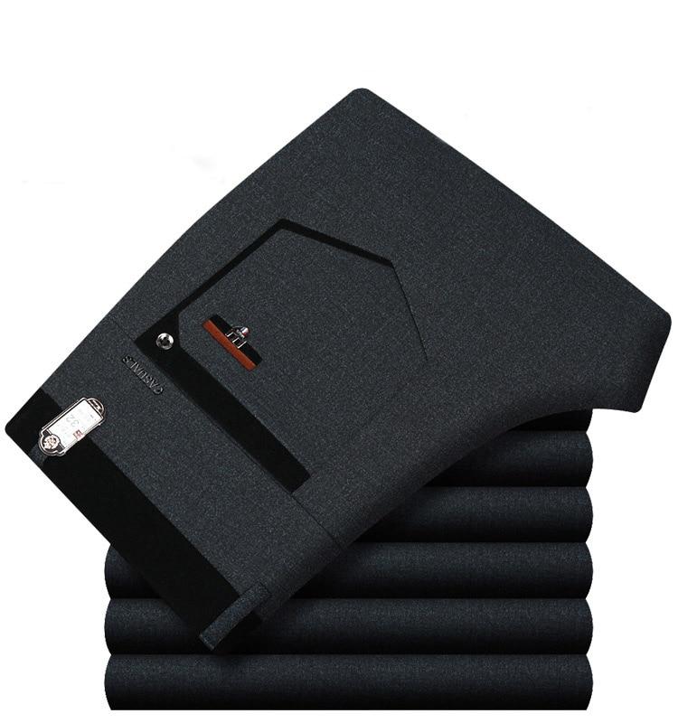 Pants Thick Soft straight Comfortable Cotton Classic   -   1mrk.com