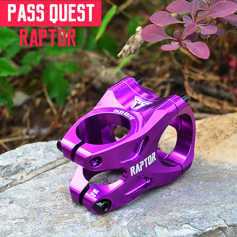 PASS QUEST Aluminum Alloy 6061-T6 CNC Bicycle Stem 113g for AM/FR/DJ All Mountain Dirt Jump 35mm 0 degree mizumi рога 6061 t6 22 2 х 85 мм
