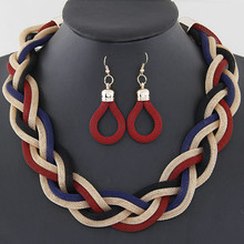 The new Europe and the United States exaggerate preparation of metal thick big fashion chain necklace