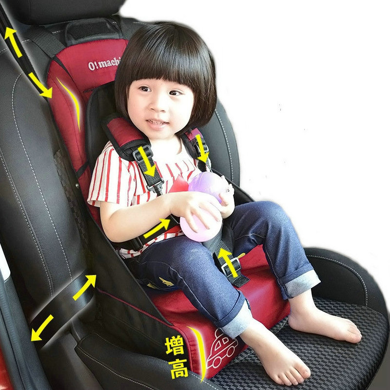 aliexpresscom buy portable fold child car safety seat baby car booster seat infant car seat canopy for kids 7months 5years old kids dining chair from