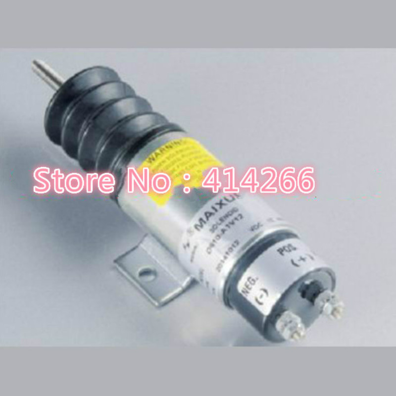 Speed solenoid D610-A1V12 for 12V Dual Coil Pull Solenoid free shipping pull solenoid p613 a1v12 12 volt for engine continuous duty free fast shipping