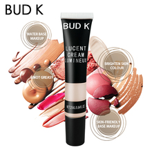 BUD K Face Highlighter Primer Makeup Contour Glitter Brightener Liquid Cream Concealer Base Cosmetics
