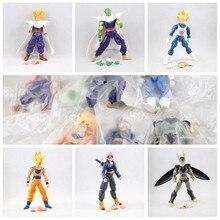 Lot 6pcs of set dragon ball z Goku DBZ Anime Vegeta Cell Kid Toy action figures In opp bag