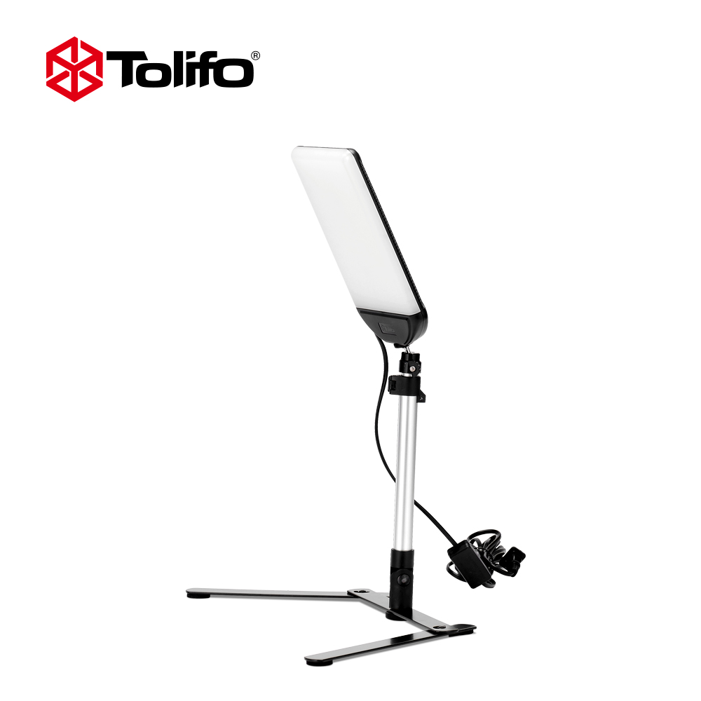 Tolifo PT 22AC Dimmable Ultra High Power LED Video Light Panel for Still Shooting with U
