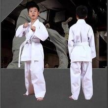 Униформа для карате костюм с ремнями белая команды студентов