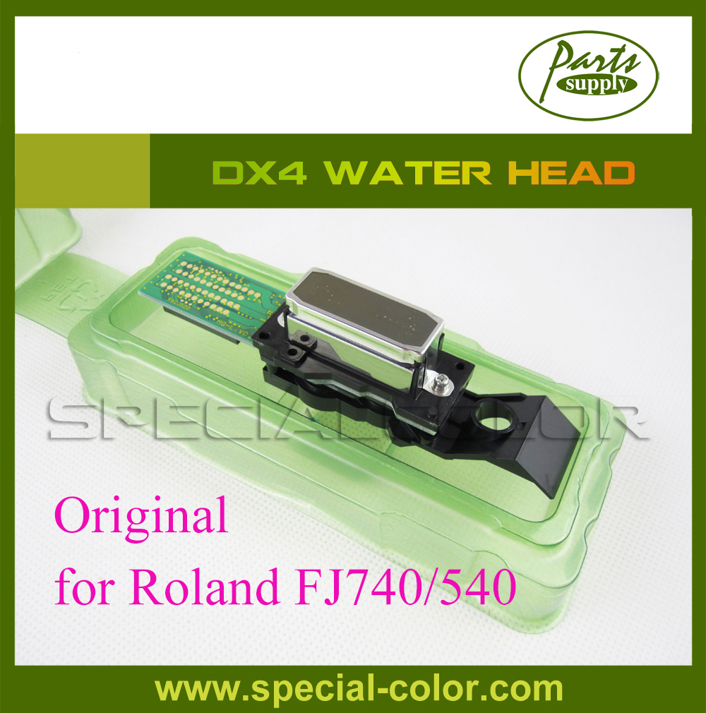 Original Dx4 Printhead Water based For Roland FJ740/540 Print Head good quality wide format printer roland sp 540 640 vp 300 540 rs640 540 ra640 raster sensor for roland vp encoder sensor