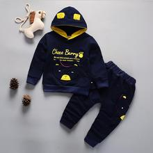 baby boy clothing Sport Suit tracksuit Outfits Kids Clothes Set Spring Autumn new boys children cotton Hoody jacket + Pants 1yrs