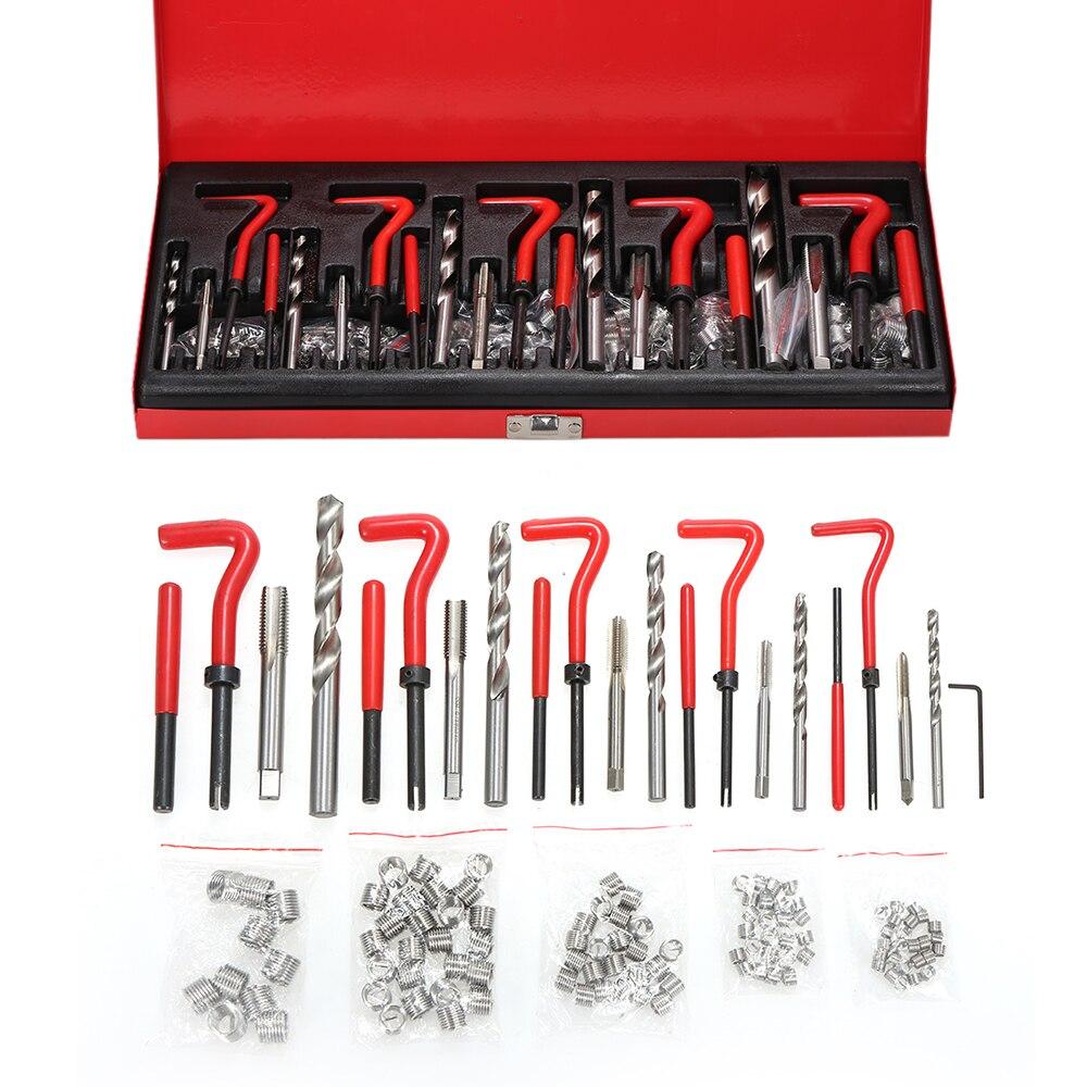 Kit di Riparazione filo 131PCS Helicoil Tipo di Kit di Riparazione Filo-in Kit per candele fai da te da Casa e giardino su  Gruppo 1