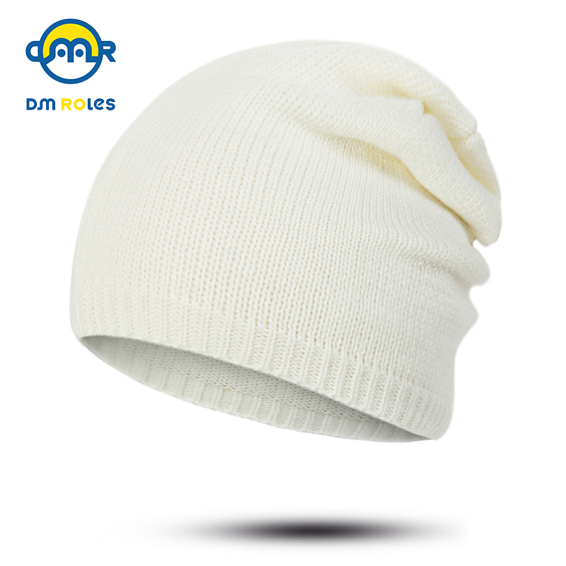 c5b46443903 DMROLES Fashion Skullies Beanies Baby Hat For Girls Boys Winter Knitted Children  Hat Beanies Kids Cap