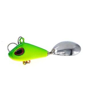 Image 3 - 金属ミニvibルアー6g 25グラム冬アイス釣具ピンクランクベイト振動スピナーベイト