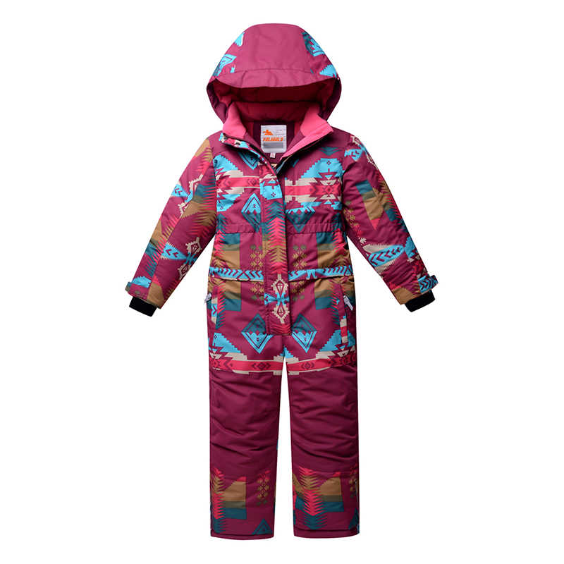 beb11b8cba6a Detail Feedback Questions about 2019 Winter Ski Suit For Girls One ...