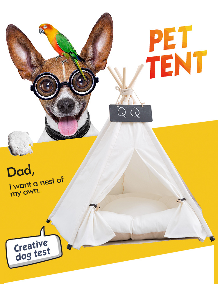 Pet Houses Cat Portable Dog Tents For Small Dogs Foldable Dog House Pet Bed Tent Cat Kennel Indoor Portable Travel Puppy Mats 6