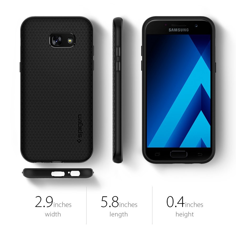 online store c97b7 030f6 US $16.99 |100% Original SPIGEN Liquid Air Armor Case for Samsung Galaxy A5  2017-in Fitted Cases from Cellphones & Telecommunications on ...