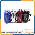 RASTP-Universal 10mm D1 Turbo Engine Oil Catch Tank Can Reservatório Desempenho-Prata, Preto, Vermelho, azul (LS-OCC001)