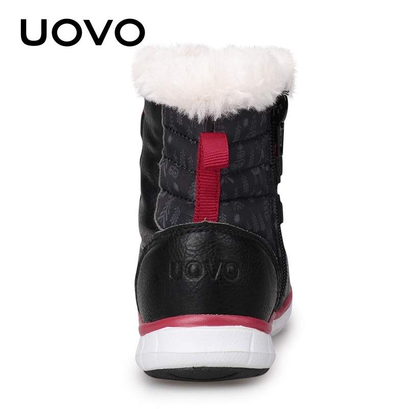 8d1b15a1b060 ... 2018 Black Snow Boots Kids Winter Boots Boys Waterproof Shoes Fashion  Warm Baby Boots For Boys Toddler Footwear Size 23-30 . 45% OFF. Previous