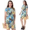 New Summer Club Big Size Sexy Plus Size Women Clothes Plus Size Dress 4XL 3XL2XL Dresses Big  Woman Clothes