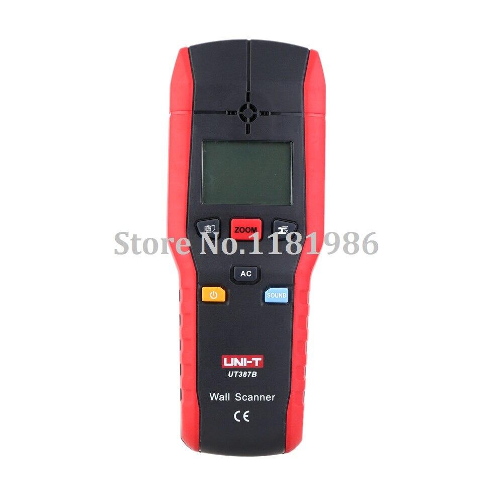Outil de Diagnostic UNI-T UT387B détecteur mural multifonctionnel à main en métal bois détecteur de câble à courant alternatif Scanner mur précis