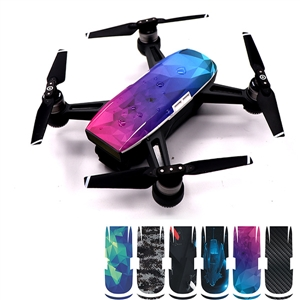 Skin Stickers Decals PVC Waterproof for DJI Spark Quadcopter