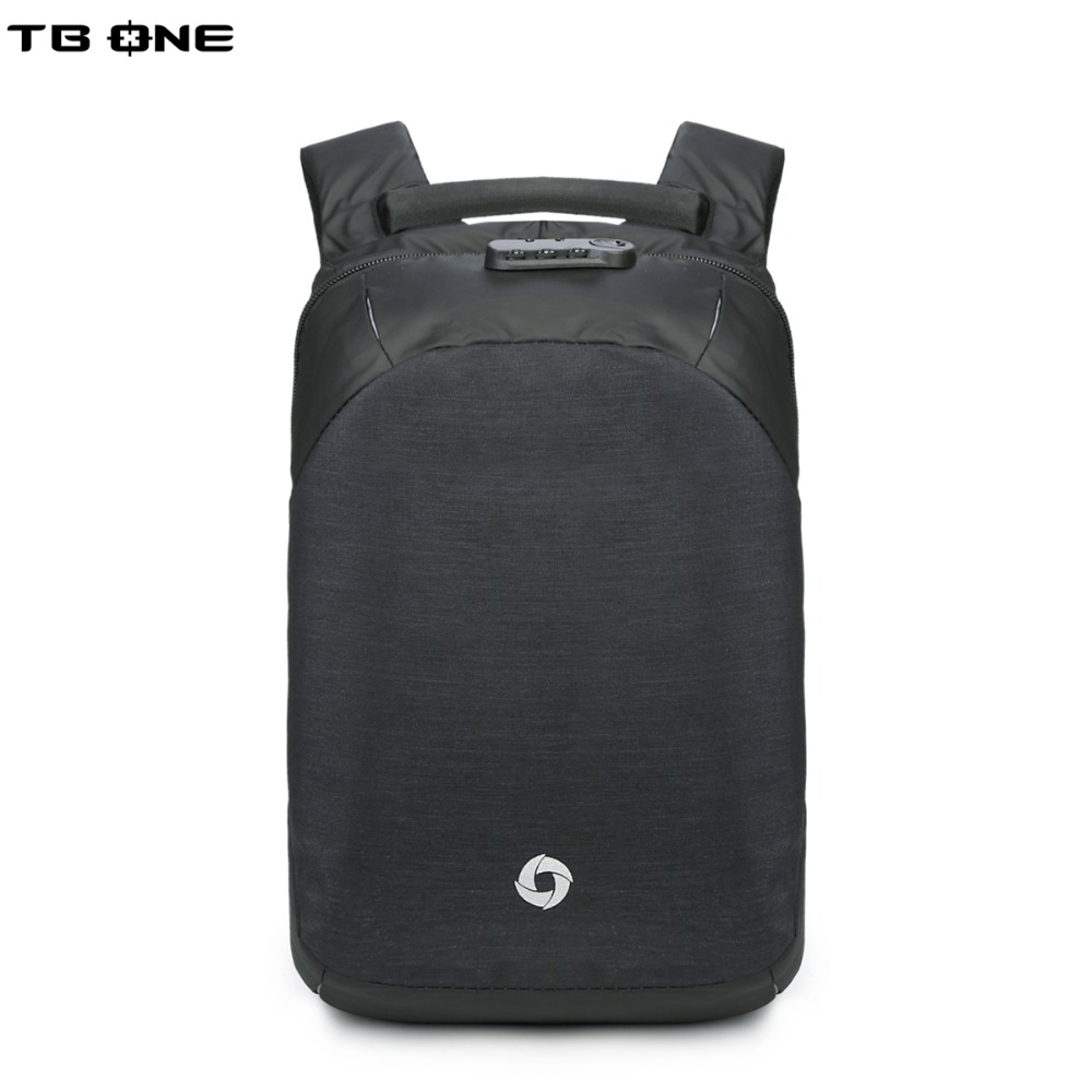 TBONE School 15.6 Laptop Backpack mMen Waterproof Mochila Casual Travel Business USB Charging Backpacks Male Bag Anti-theft usb charging backpacks casual travel men laptop backpack anti theft bags male gray daypack male mochila school bag
