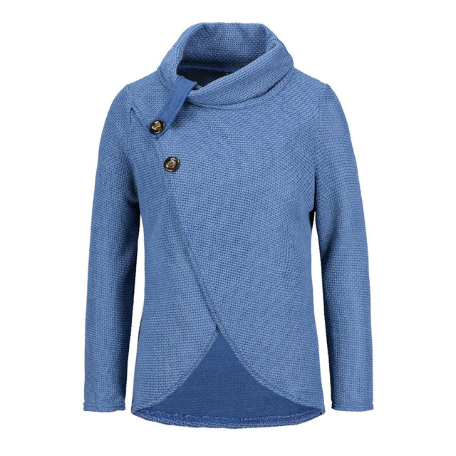 Women knitted pullovers Long Sleeve o neck Solid girl Pullover Tops Blouse Shirt pullovers winter women clothing  5
