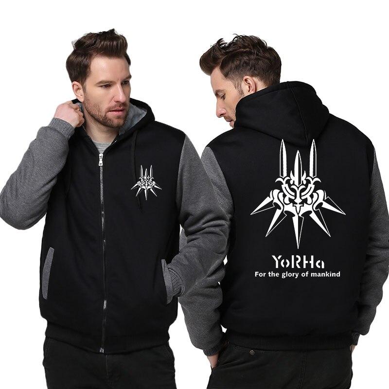 2019 New US size for Men Hoodies Automata Coat Zipper Jacket Hoodie Fleece Unisex Thicken Sweatshirts
