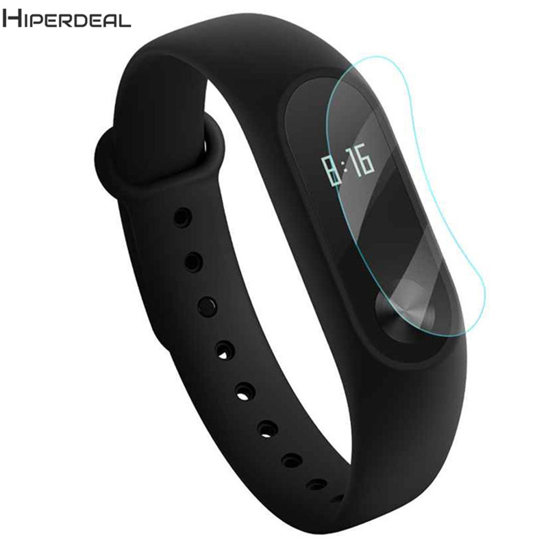 HIPERDEAL 2PCS 0.1mm HD Protective Explosion-proof Film For Xiaomi Mi band 2 Screen Protector Smart Accessories Wristband JA10b