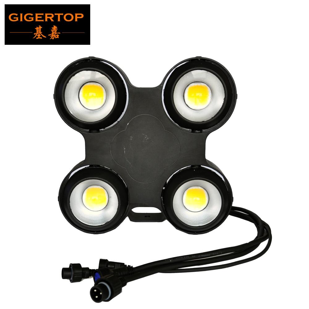 TOPTOP STGAE lumière 400 W COB LED lumière d'audience blanc chaud 3200 k/blanc froid 6500 k étanche IP65 linéaire gradateur lumière Blinder