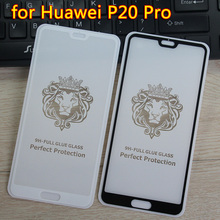 For Huawei P20 Pro Two strong Tempered Glass Film 9H 2.5D Full Cover Protector for huawei p20 pro phone Screen Protective Film все цены