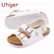 Модная летняя детская обувь; детские сандалии для мальчиков и девочек; детские тапочки; мягкие пляжные сандалии для девочек и мальчиков; tx0833
