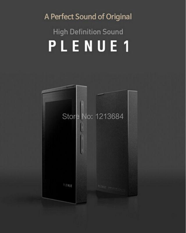 IAUDIO COWON Plenue 1 P1 Dual Core HIFI Lossless HD Sound Audio 24bit/192kHz 256GB DAC Portable Music Player DHL/EMS plenue 1
