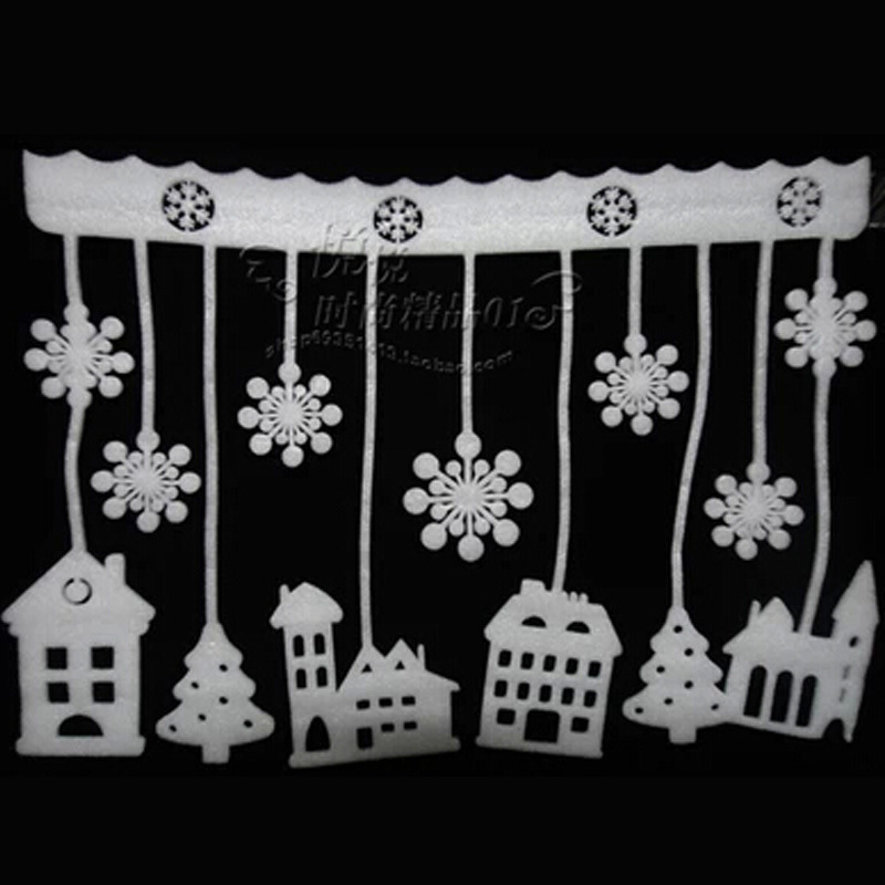 christmas window paper decorations