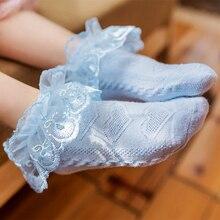 От 1 до 12 лет, детские кружевные носки для девочек г. Летние Школьные носки с рюшами для маленьких девочек, короткие носки Одежда для танцев хлопковая одежда, skarpetki